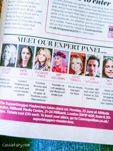 Cosmopolitan Blog Awards 2014-4