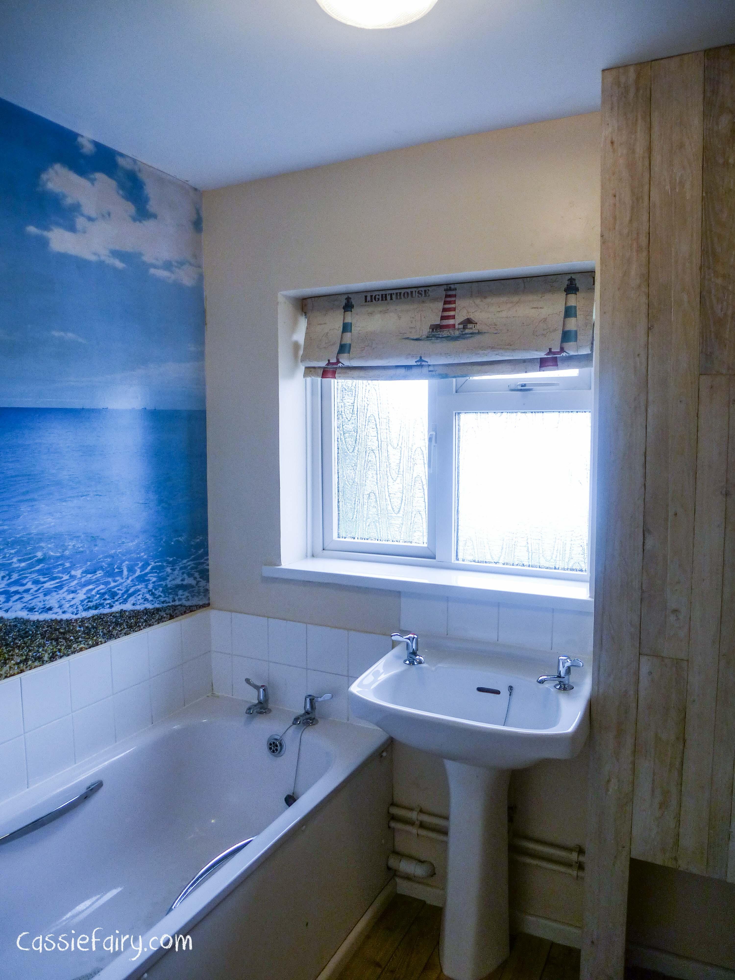 DIY Bathroom Roman Blind My Thrifty Life By Cassiefairy - Roman blind bathroom