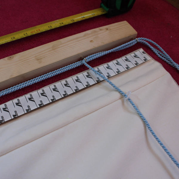 Lined Roman Blind Sewing Project Step 10.2