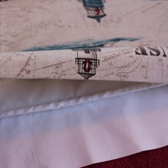 Lined Roman Blind Sewing Project Step 4.5
