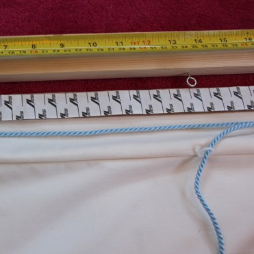 Lined Roman Blind Sewing Project Step 9.1