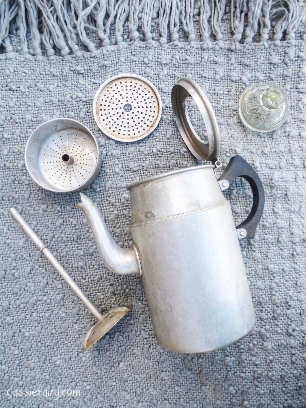 cleaning up a vintage coffee pot-2