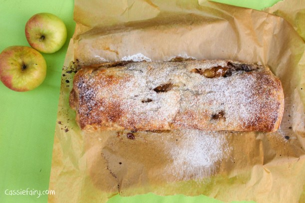 easy apple strudel recipe for the Great British Bake Off-7