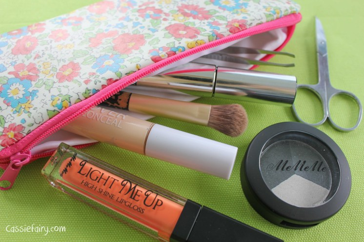 my make up pencil case with beauty bargains from mememe cosmetics-3