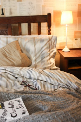 natural textures and colours in this bedroom makeover-8