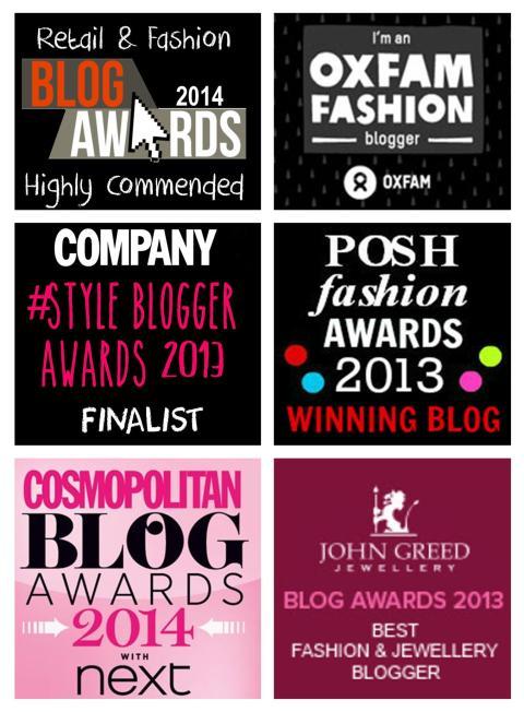blog awards widget