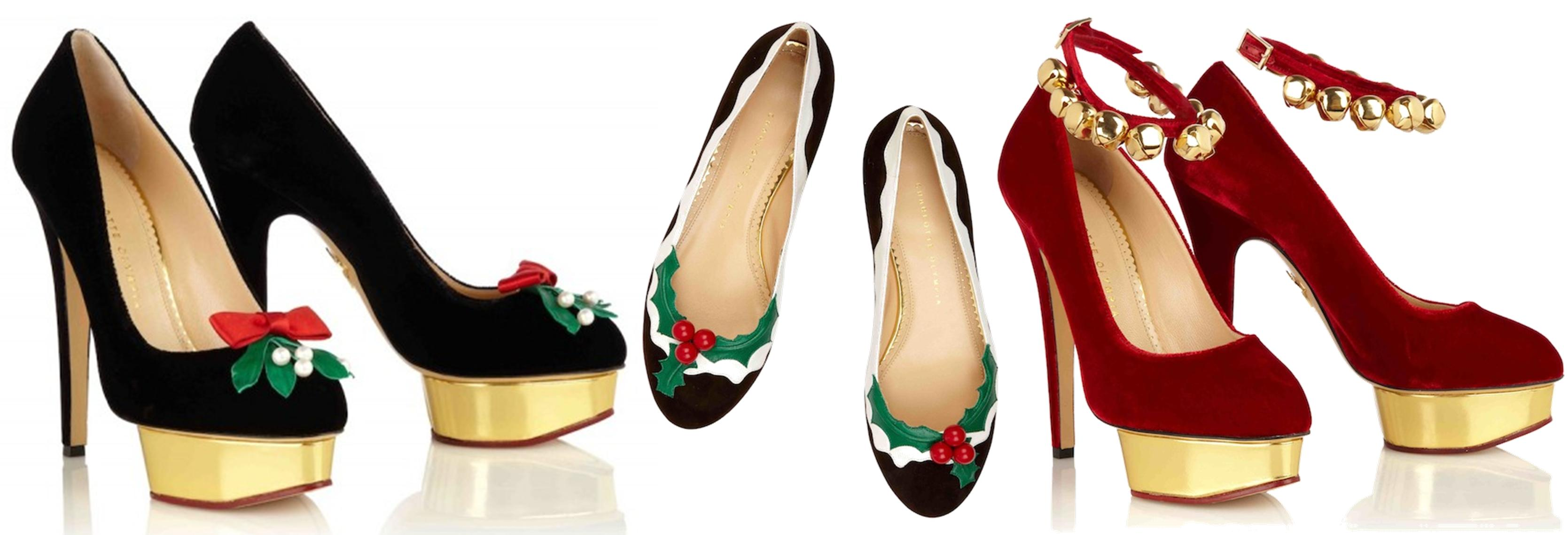 Tuesday Shoesday ~ The most festive footwear ever!