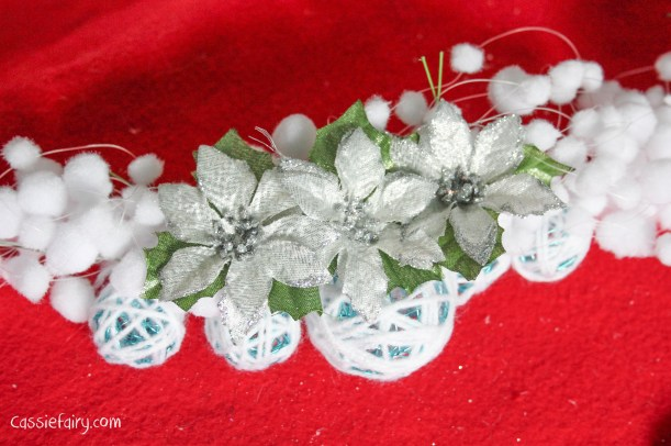 DIY christmas decoration mantlepiece garland ideas-8