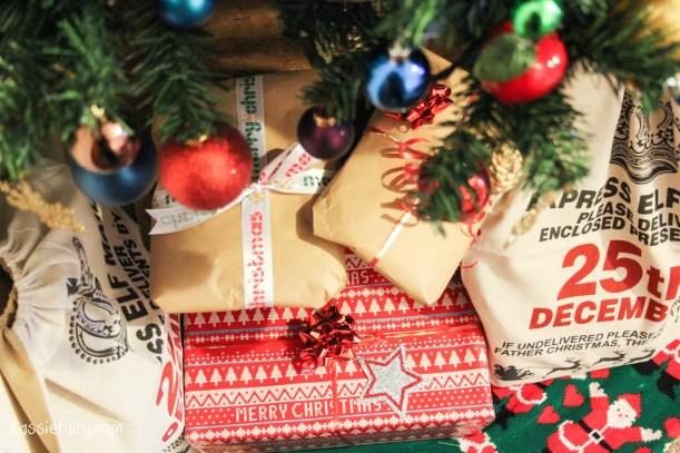 DIY christmas festive gift wrapping-4