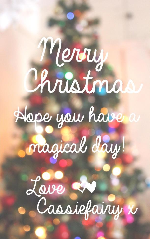 cassiefairy christmas