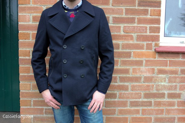 army and navy coat menswear sale bargain