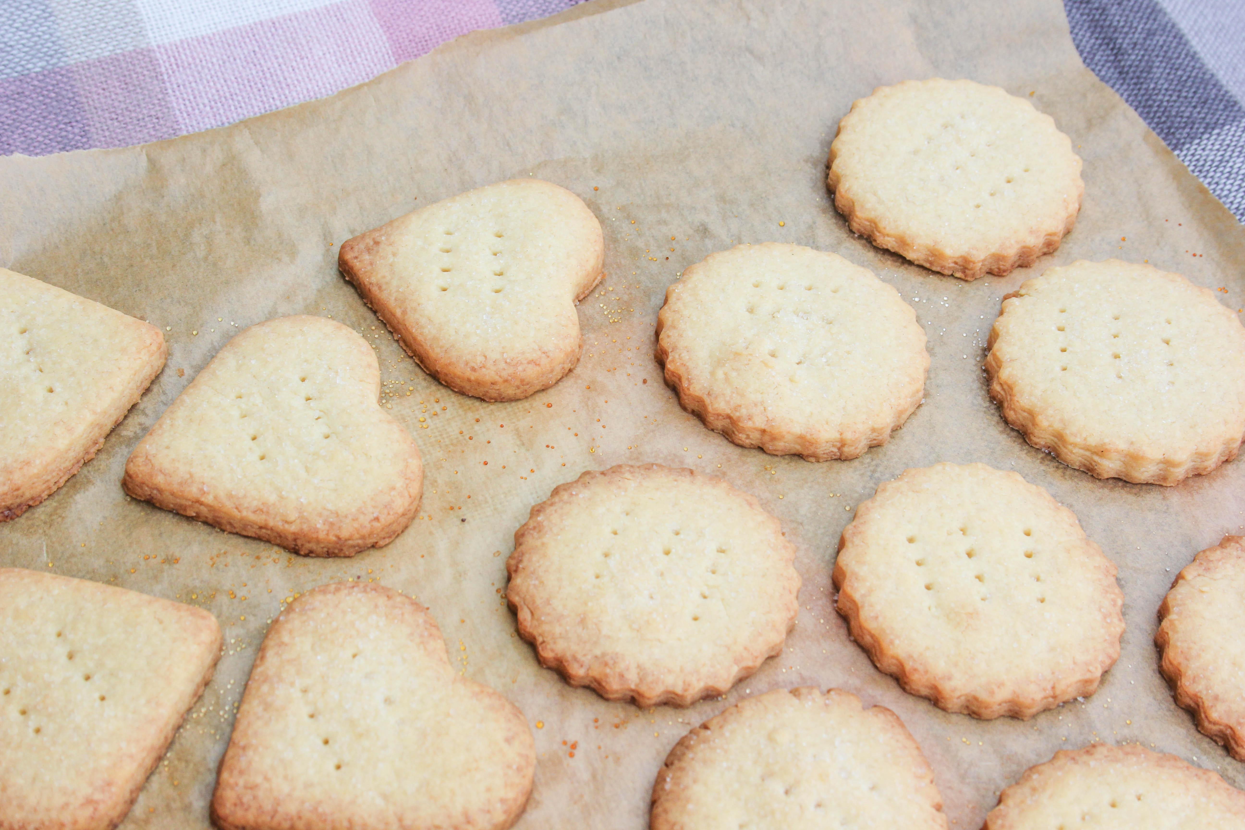 Pieday Friday - Shortbread for Burns Night or Valentines
