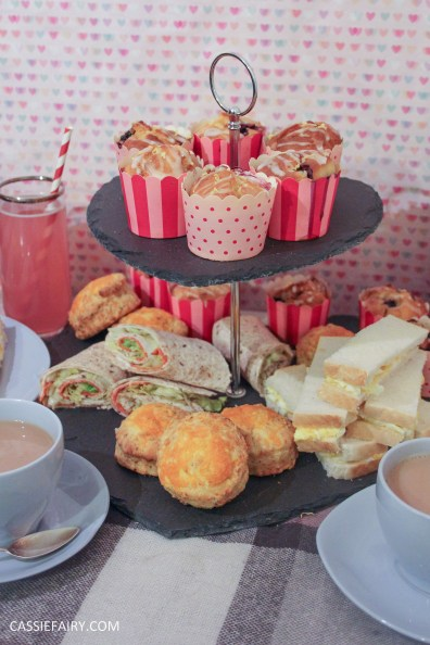 DIY afternoon tea date for Valentines Day or birthday celebration-11