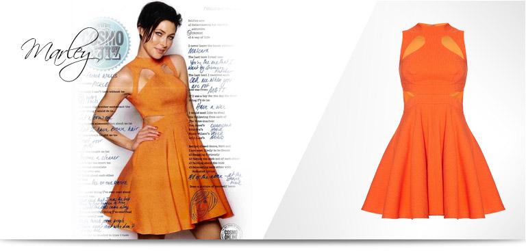 emma willis dress in Cosmo magazine