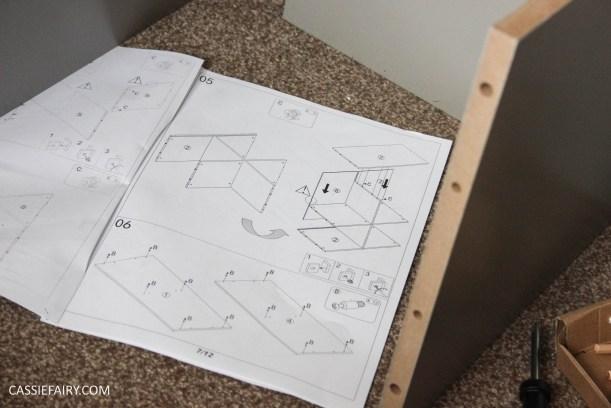 vertbaudet craft storage shelving solution for vintage caravan-2