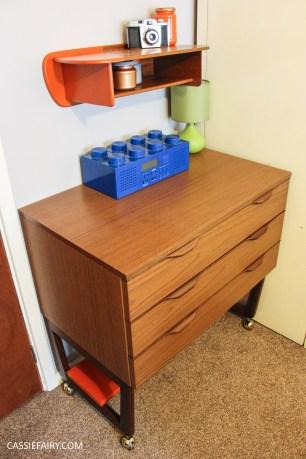 diy desk makeover project - mid-century modern-2