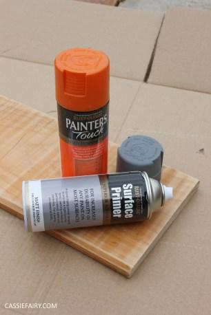 diy furniture makeover project - desk and shelf-8