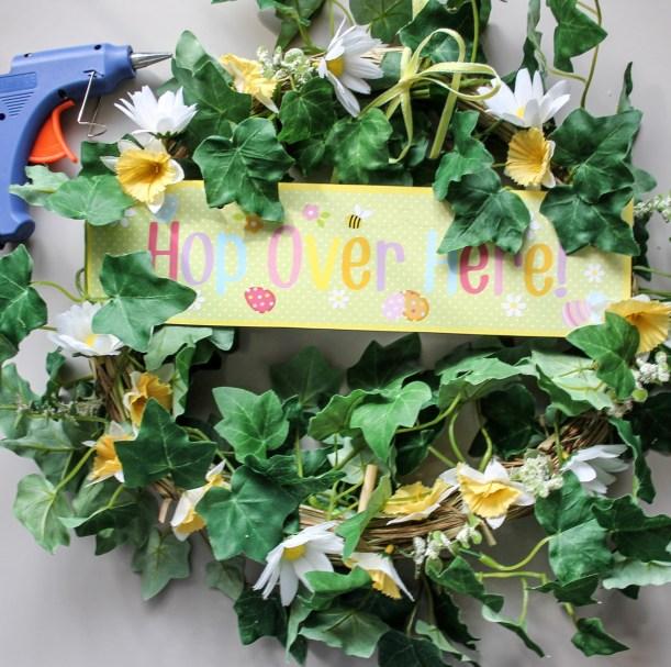 diy spring wreath by Cassiefairy step 4