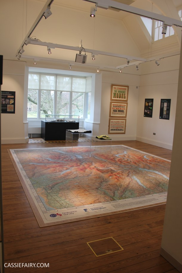 the grandest views map exhibition keswick