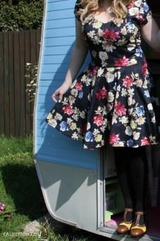 boohoo floral dress
