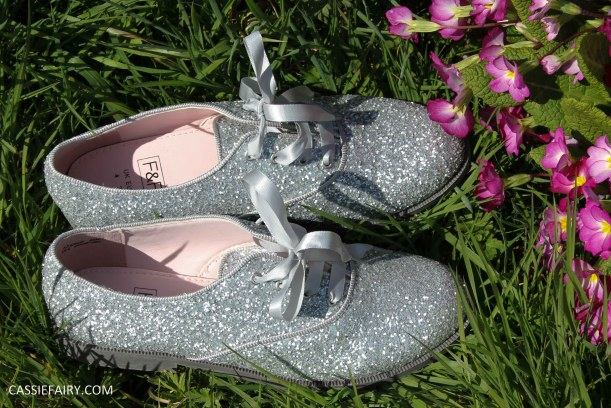 tesco glitter brogues from florence and fred