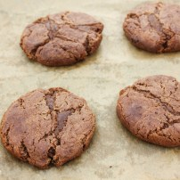 Melted Malteser Cookies