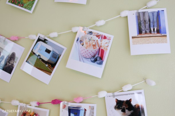 diy polariod photo wall display decoration using polabox-19