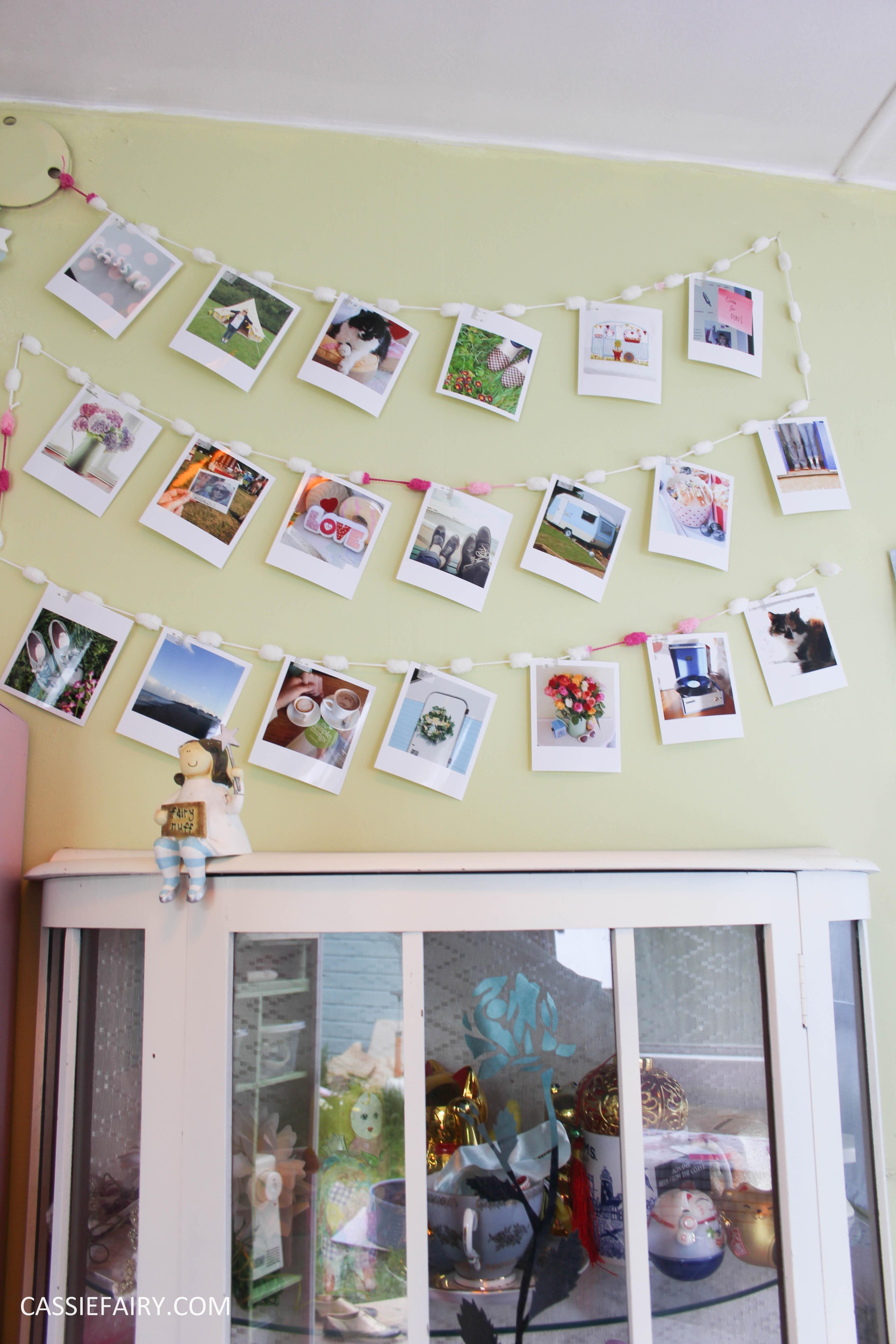 diy polariod photo wall display decoration using polabox-22