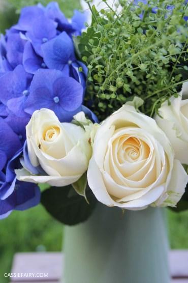 flower bouquet inspiration blue hydrangea and rose_-11