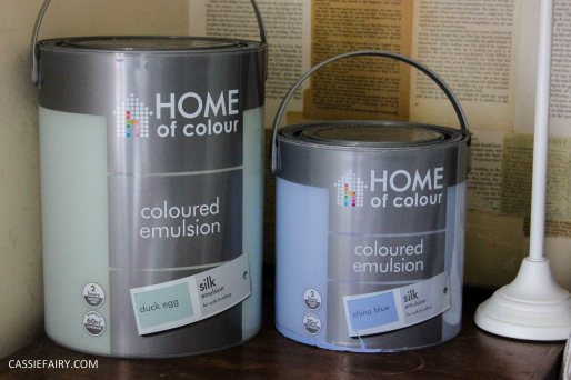 interior design - choosing paint for bedroom decorating