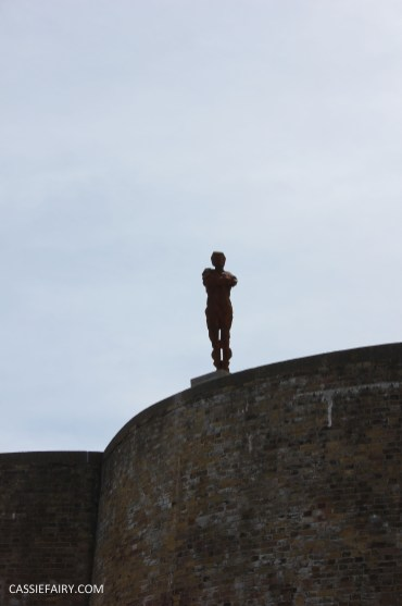 Antony Gormley LAND art exhibition sculpture for the landmark trust-6