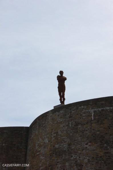 Antony Gormley LAND art exhibition sculpture for the landmark trust-6