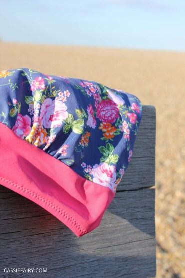 DIY design your own swimwear floral tankini-11