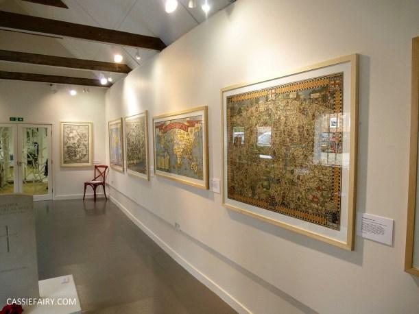 Max Gill map cartography exhibition_-2
