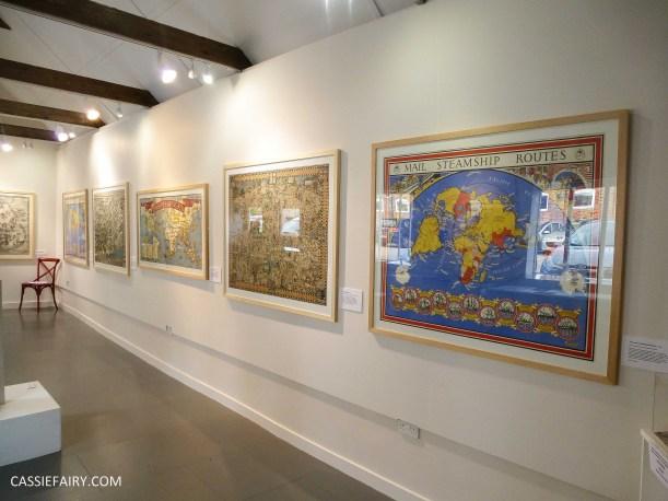 Max Gill map cartography exhibition_