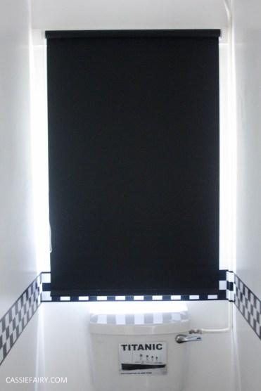 black and white bathroom interior design inspiration blinds-6