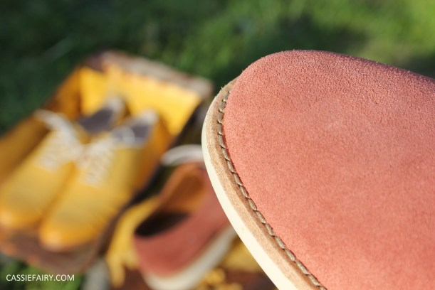 his and hers shoes mustard and rust from clarks summer sale 2015-14