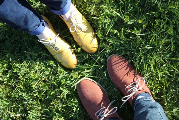 his and hers shoes mustard and rust from clarks summer sale 2015-4