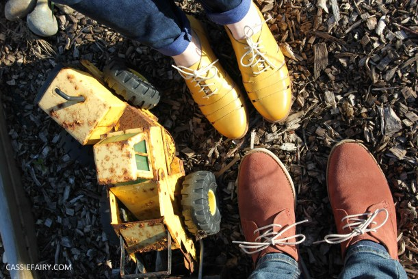 his and hers shoes mustard and rust from clarks summer sale 2015-6
