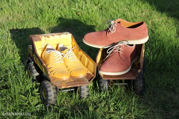 his and hers shoes mustard and rust from clarks summer sale 2015-8