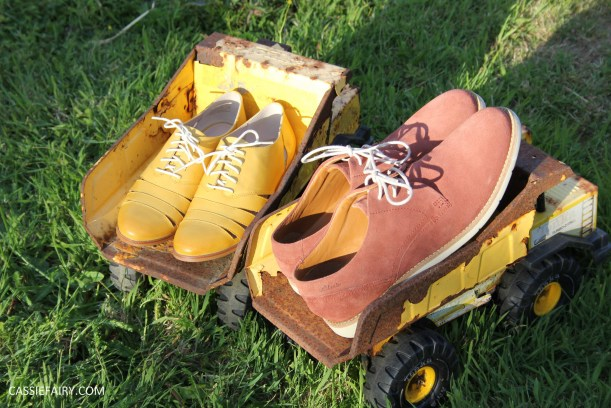 his and hers shoes mustard and rust from clarks summer sale 2015-9