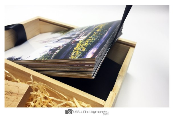 photo box of memories for fathers day gift