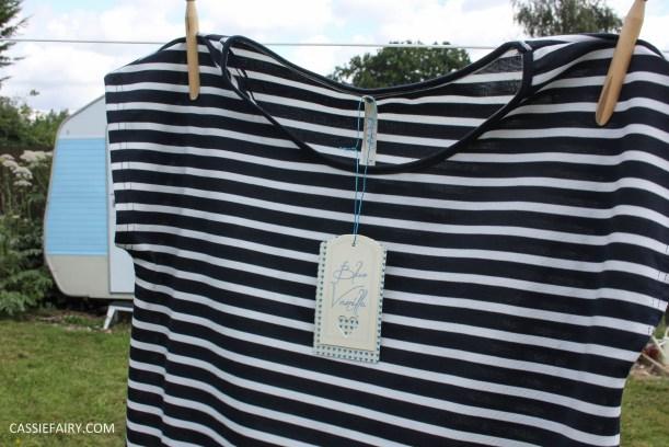 black and white stripe dress blue vanilla-4