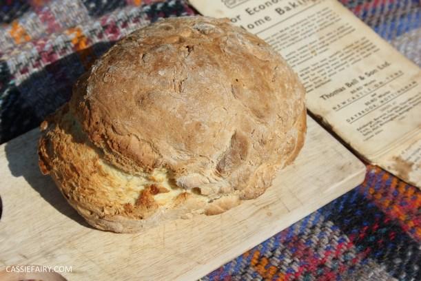 retro milk bread loaf baking recipe-15