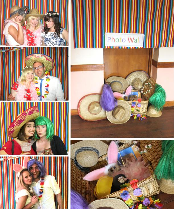 wedding-anniversary-party-ideas-fancy-dress-photo-booth-wall