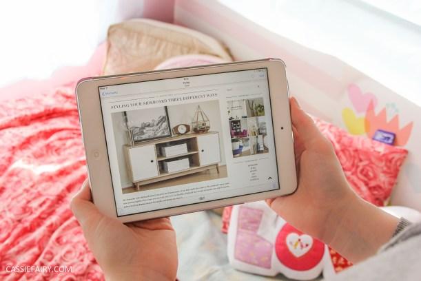lifestyle inspiration - share serenity reading blog