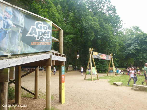 school summer holiday activity high lodge thetford forest segway adventure go ape review-5