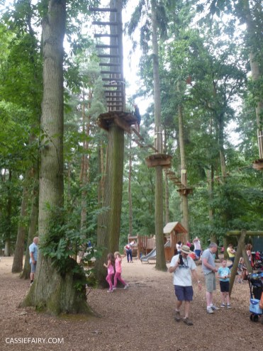 school summer holiday activity high lodge thetford forest segway adventure go ape review-8