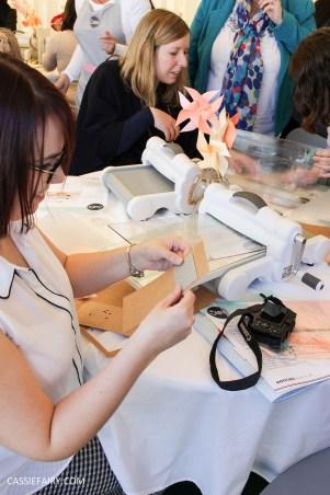 Kirstie Allsopp Handmade Fair 2015 photos DIY project cassiefairy blog-2