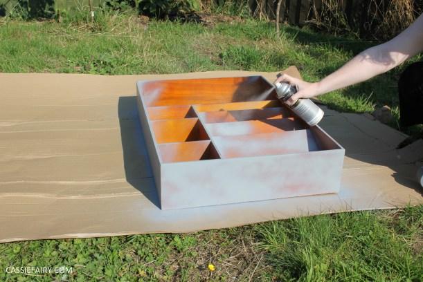 kitchen DIY furniture Makeover project bake station - storage cooking baking tutorial-2